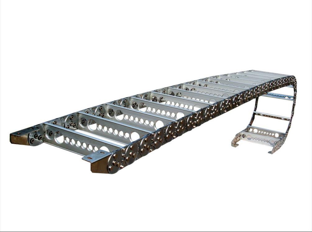 铣孔式钢铝拖链