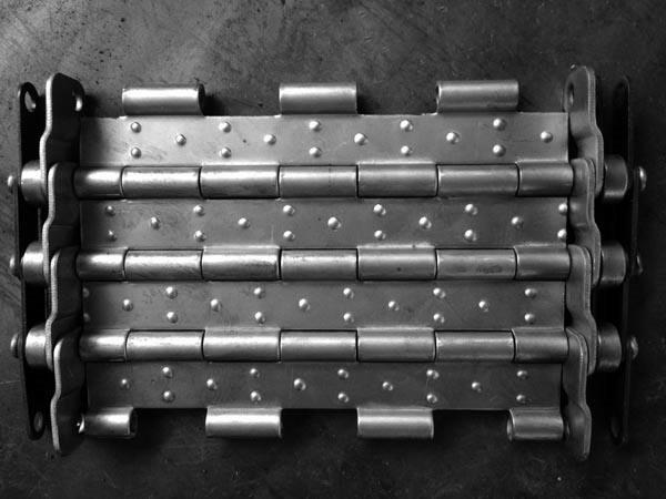 广纳简文讲解排屑机链板如何安装
