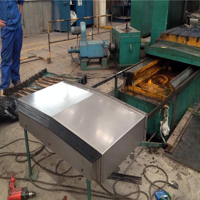 机床钢板防护罩之伸缩护板的设计理念概述